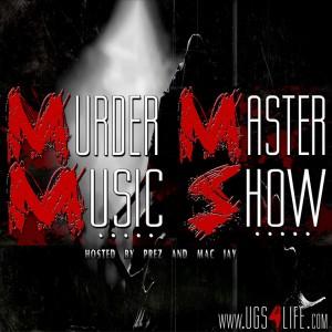 MURDER MASTER MUSIC SHOW LOGO