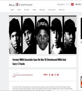 allhiphop unreleased nwa tracks