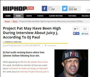 dj paul dec 2014