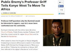 professor griff on DX