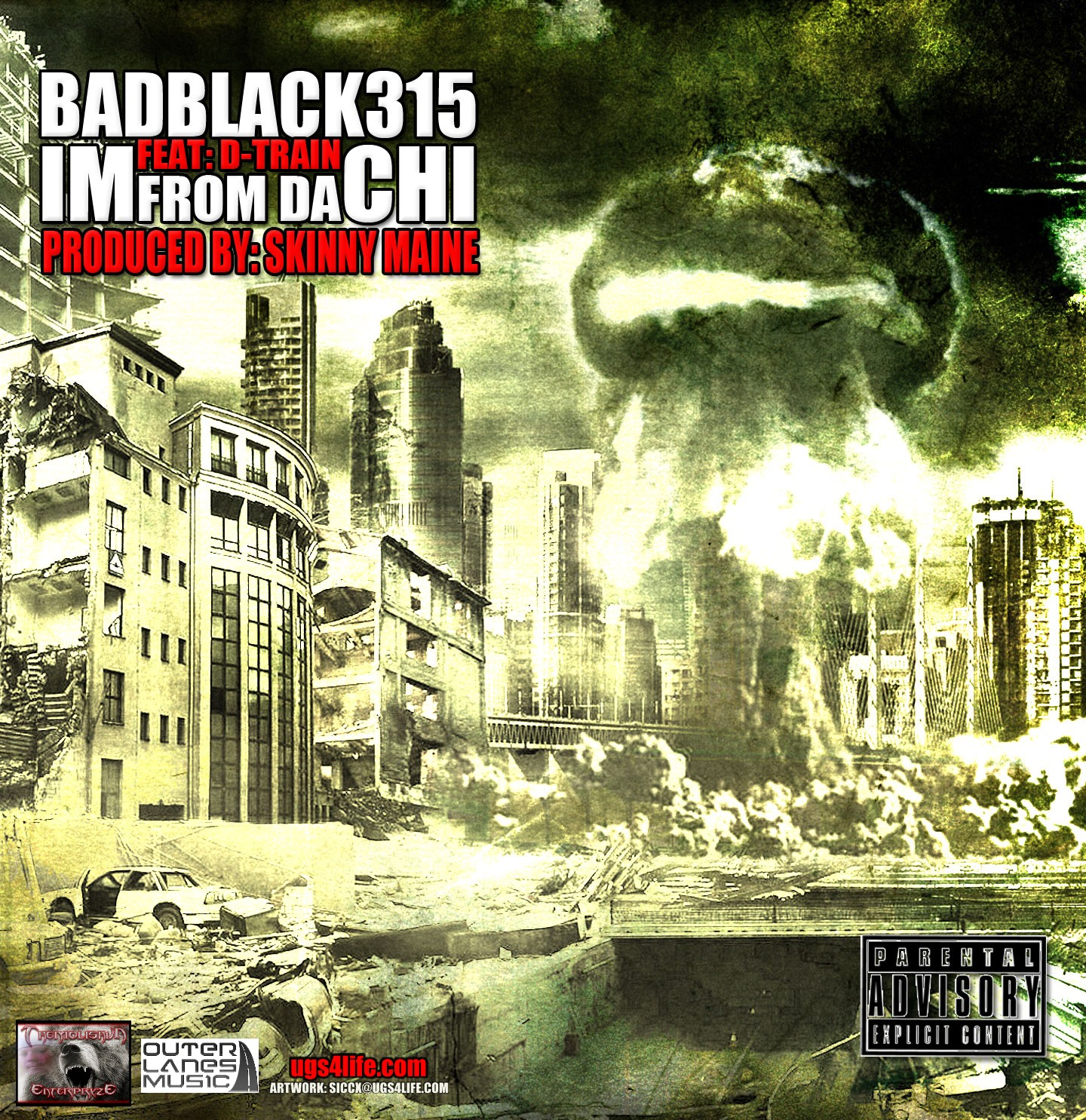 IM FROM DA CHI-BADBLACK315 feat D-TRAIN