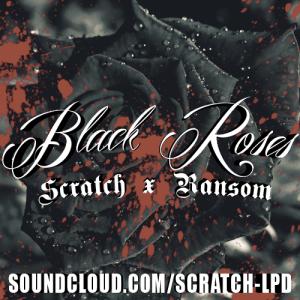 black roses art