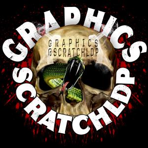scratch logo black back