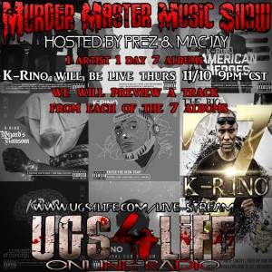 K-Rino 7 albums