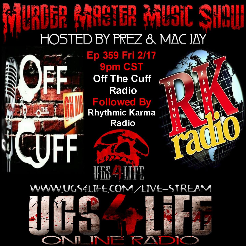 ep 359 off the cuff rhythmic karma