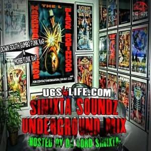 sinixta soundz underground mix logo 2